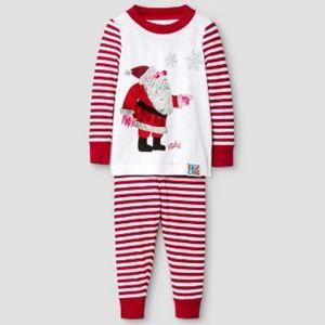 Eric Carle Santa Storybook Christmas Pajamas NWT